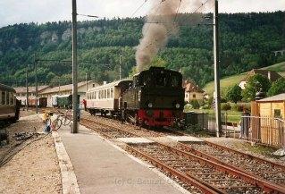 CH - VVT, la Krauss en manoeuvre à St-Sulpice