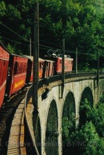 F - chemin de fer de la Mure, viaduc supérieur de Lulla