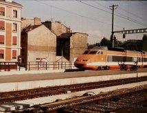 CH - SNCF, TGV à Genève