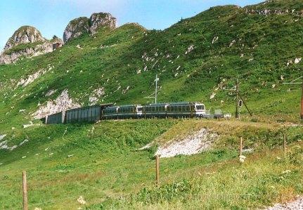 CH - MVR, Les Rochers-de-Naye