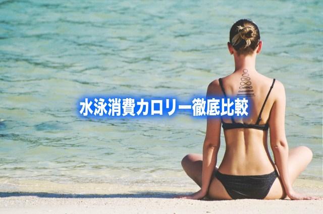 【水泳消費カロリー計算】平泳ぎ&クロール比較!ダイエット効果で選ぶ泳ぎ方
