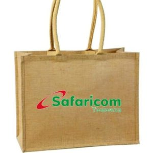 Branded Canvas woven carrier bags