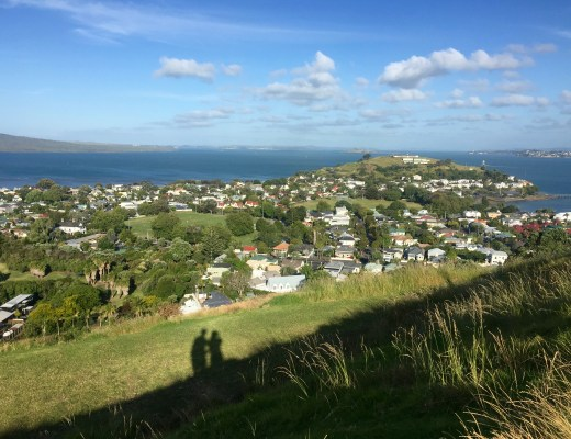 Devonport, an upmarket suburb of Auckland.