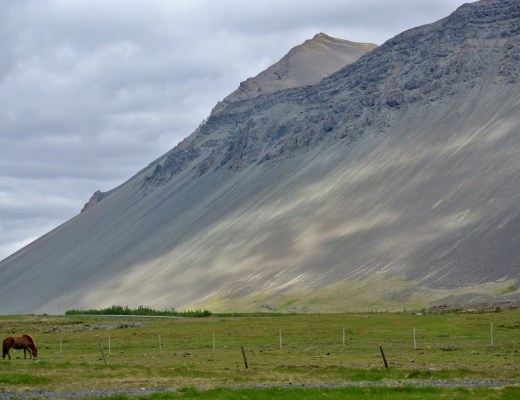 Iceland is very sparsely populated.