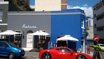 Batavia Cafe in Bo Kaap, Cape Town