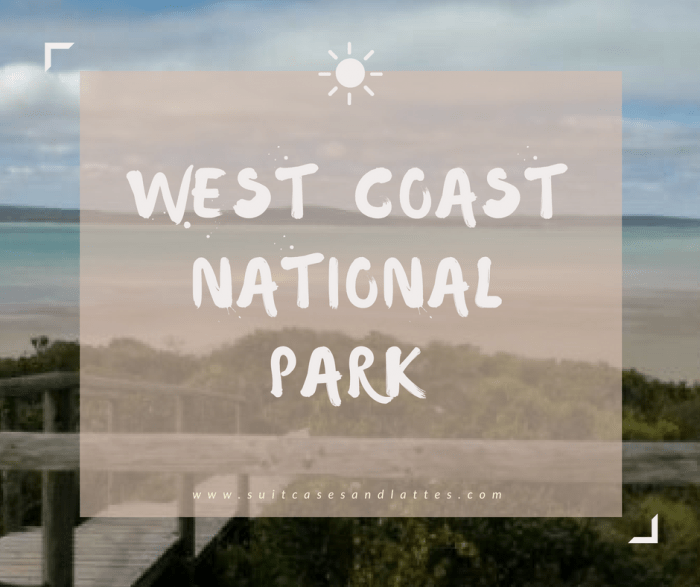West coast national park