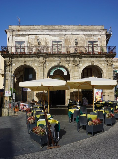 Italian cafe in Pizzo