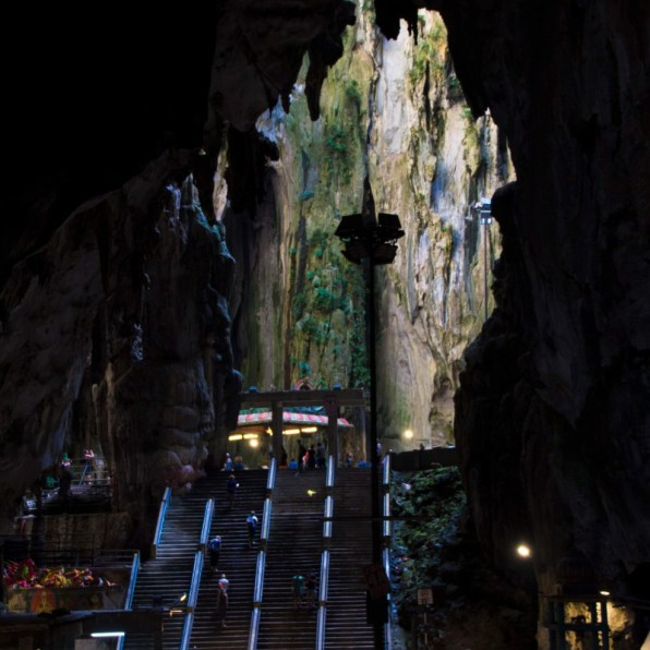 Suitcase Six CAVE-STAIRS How Accessible Is Malaysia?