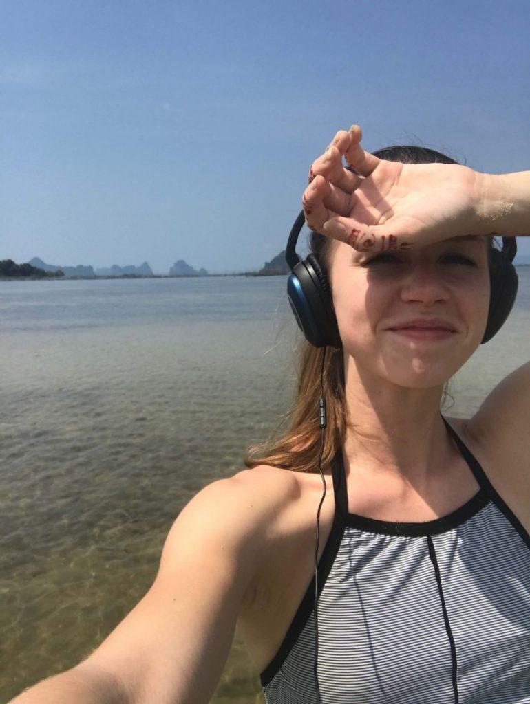 Suitcase Six krabi-beach-selfie-770x1024 5 Days in Krabi, Thailand