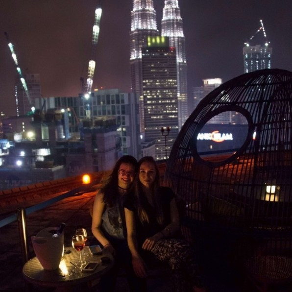 Suitcase Six rooftop 3 Days in Kuala Lampur: My Malaysia Itinerary