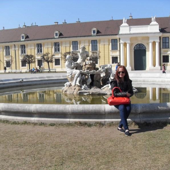 Suitcase Six Kate-Schonbrunn-Vienna-Austria Woman of the Week: Kate
