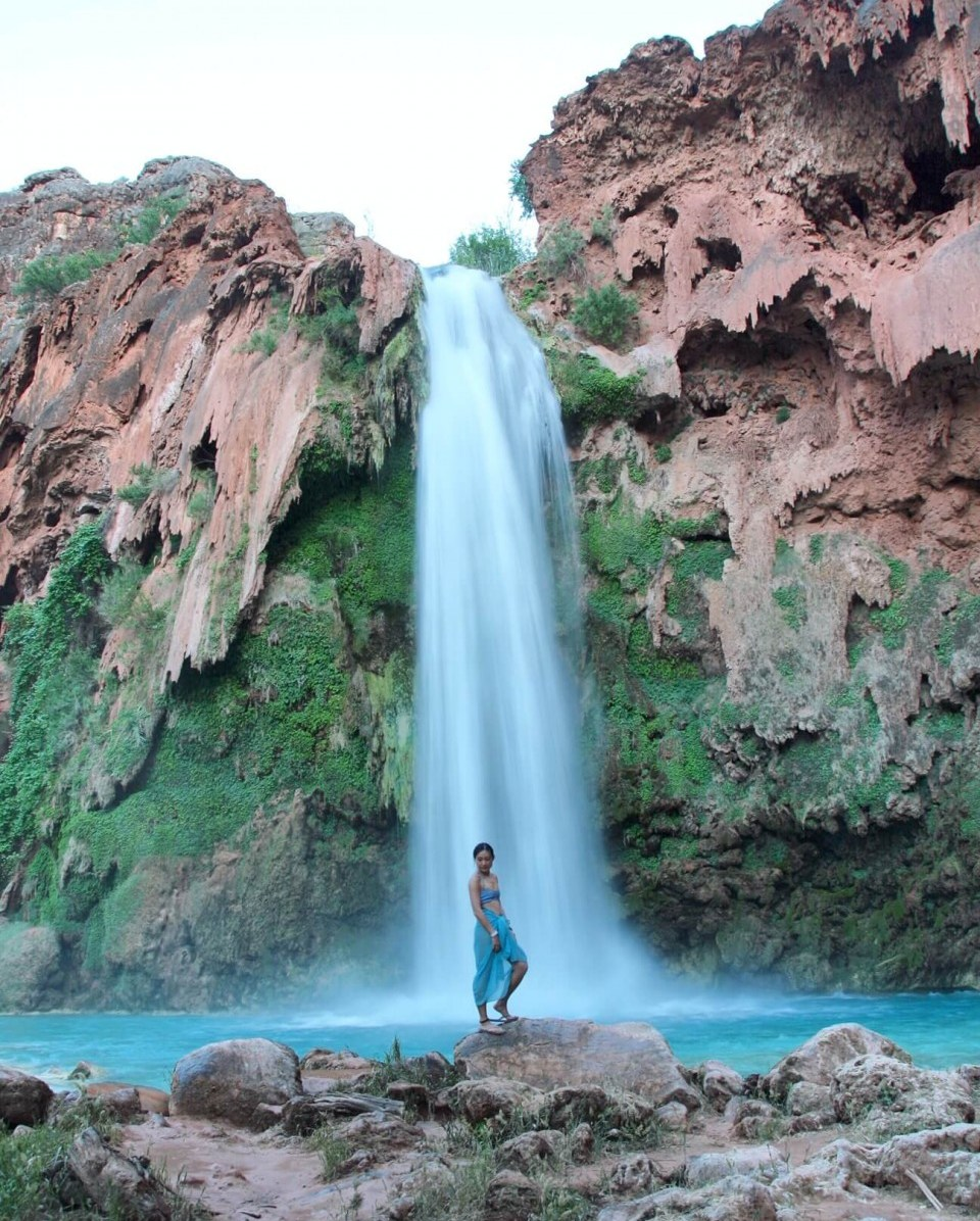 Suitcase Six Jasmine-Waterfall Woman of the Week: Jasmine