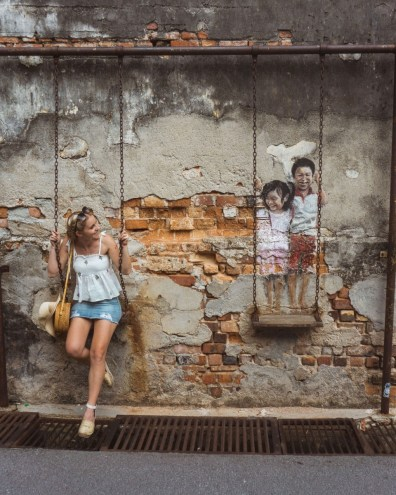 Suitcase Six Penang-street-art Woman of the Week: Frances