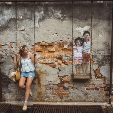 Suitcase Six Penang-street-art Woman of the Week: Frances
