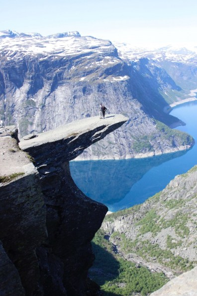 Suitcase Six Trolltunga-views Costs of Travel in Scandinavia: What I Spent in 3 Weeks