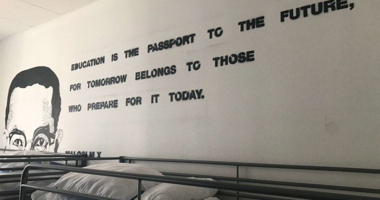 Suitcase Six Wall-art-3 Globalhagen Hostel: A Top Choice in Copenhagen for Sustainable Travelers