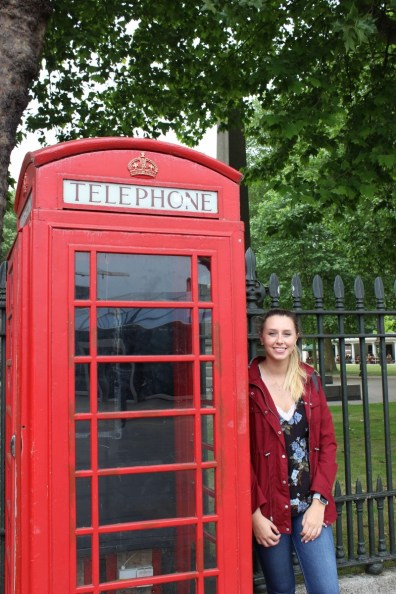 Suitcase Six Emily-phone-booth Halfway Around The World: Mid-Trip Updates