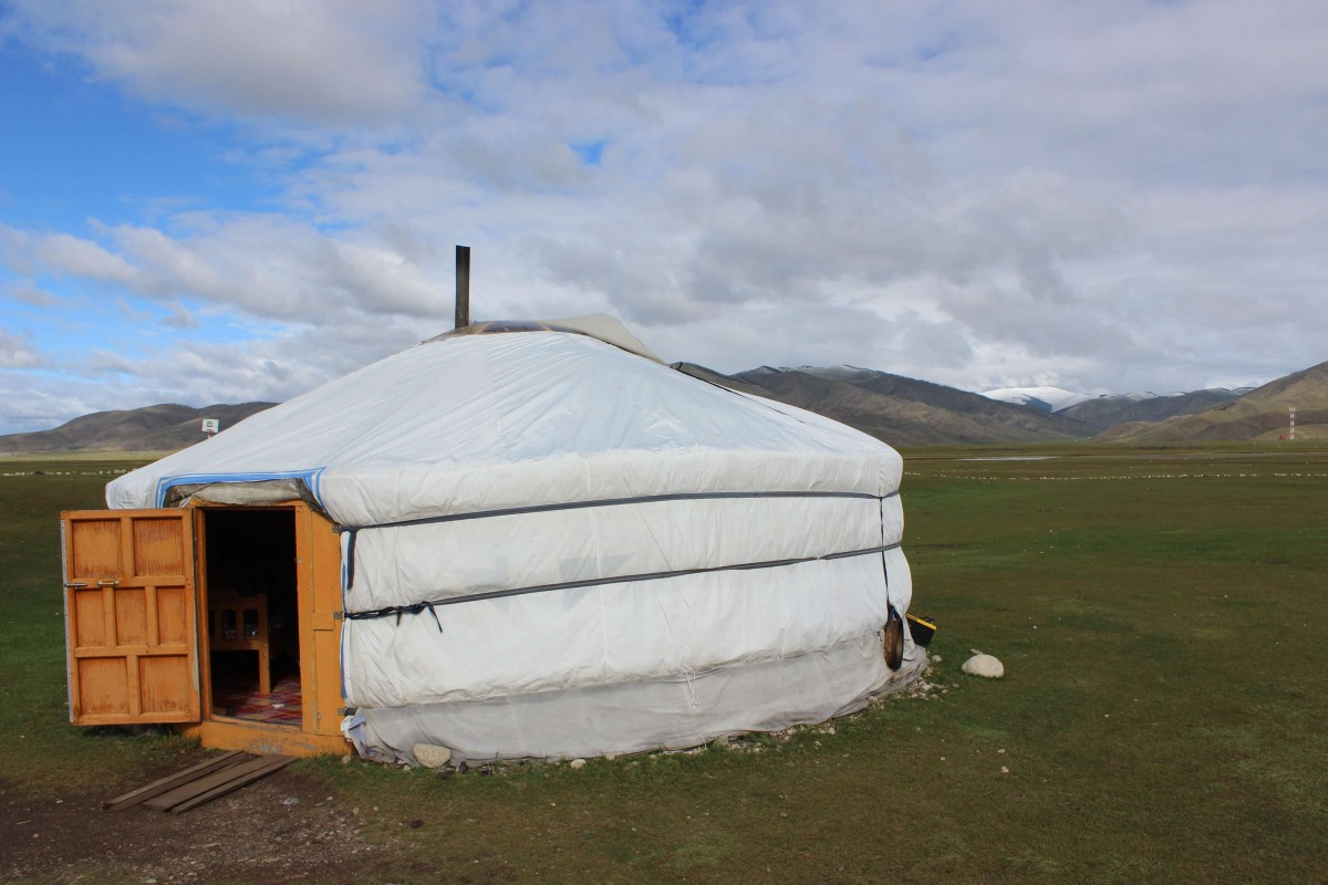 Suitcase Six Ger-w-open-door One Week in Mongolia: A Sunpath Tour Adventure