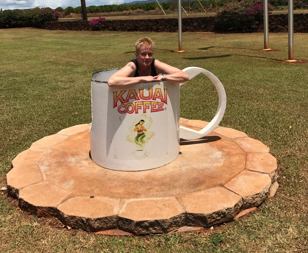 Suitcase Six LinnCoffeeCup WOMAN OF THE WEEK: INTERVIEW WITH A LIFE COACH
