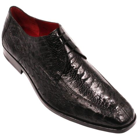 David Eden Adretti Alligator & Ostrich – Black, 13