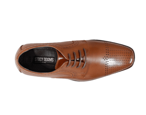 Kids Stacy Adams Perf Cap Toe Oxford – Sanborn 43111