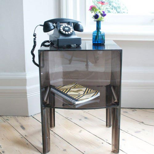 Kartell Small Ghost Buster Side Table  Suite 22 Interiors