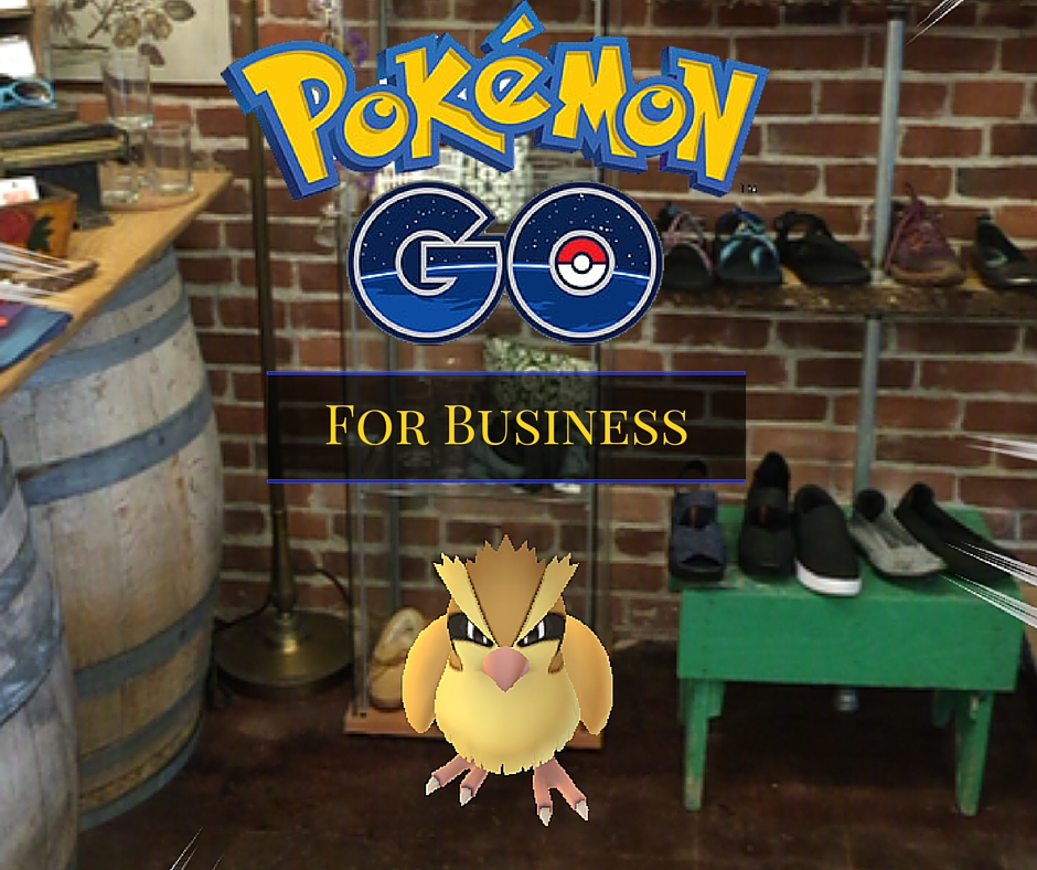 Leverage Pokemon Go for business