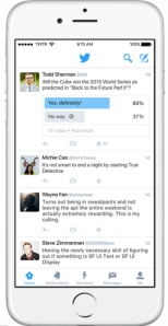 Engagement on Twitter Poll 2