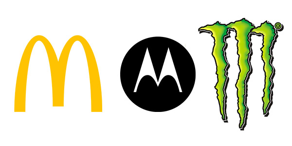 Letterform logos