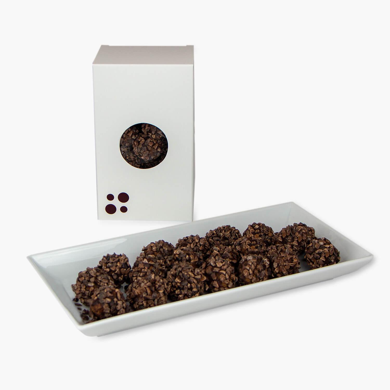 truffes de cacao douces-amères 200g