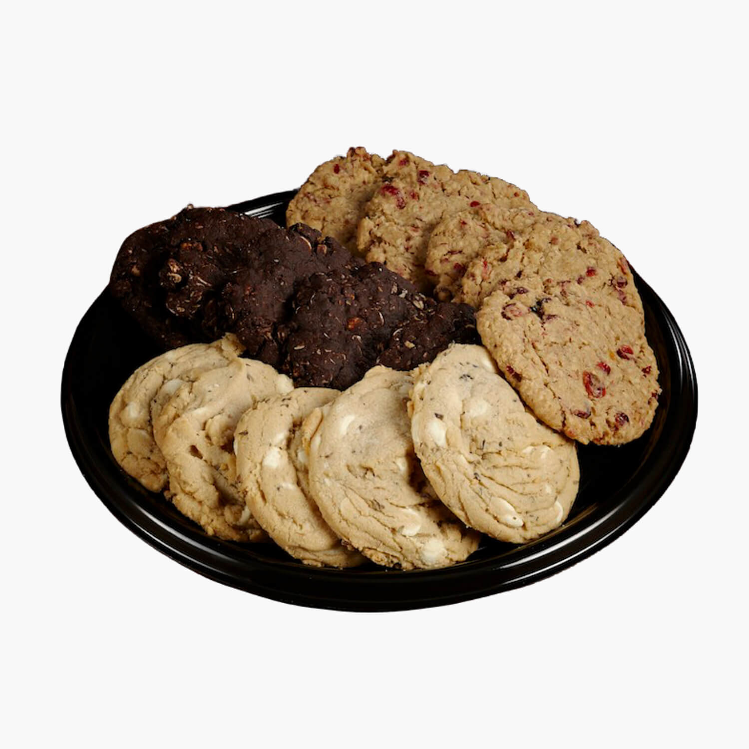 assorted cookies platter