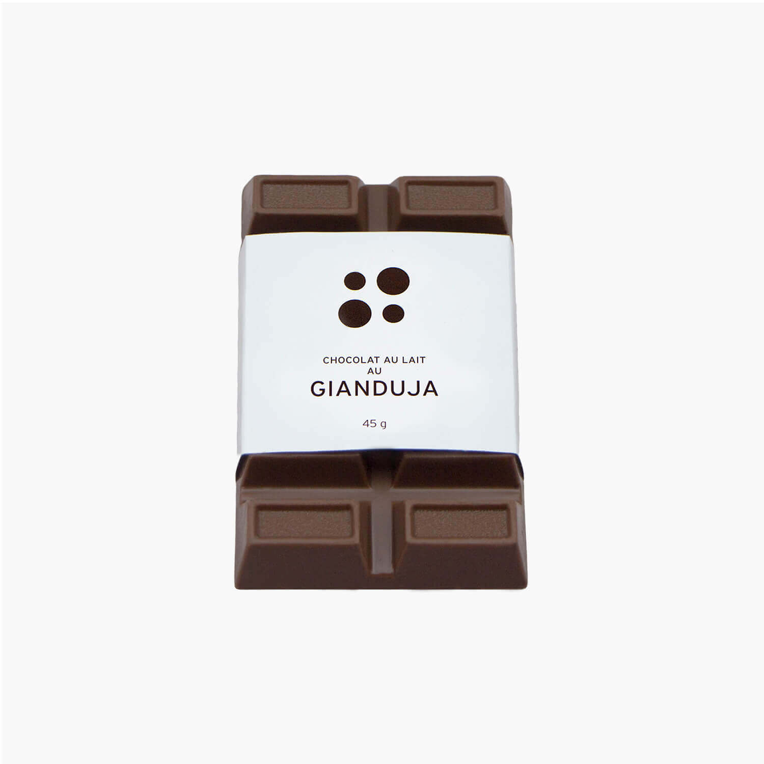 gianduja milk chocolate bar