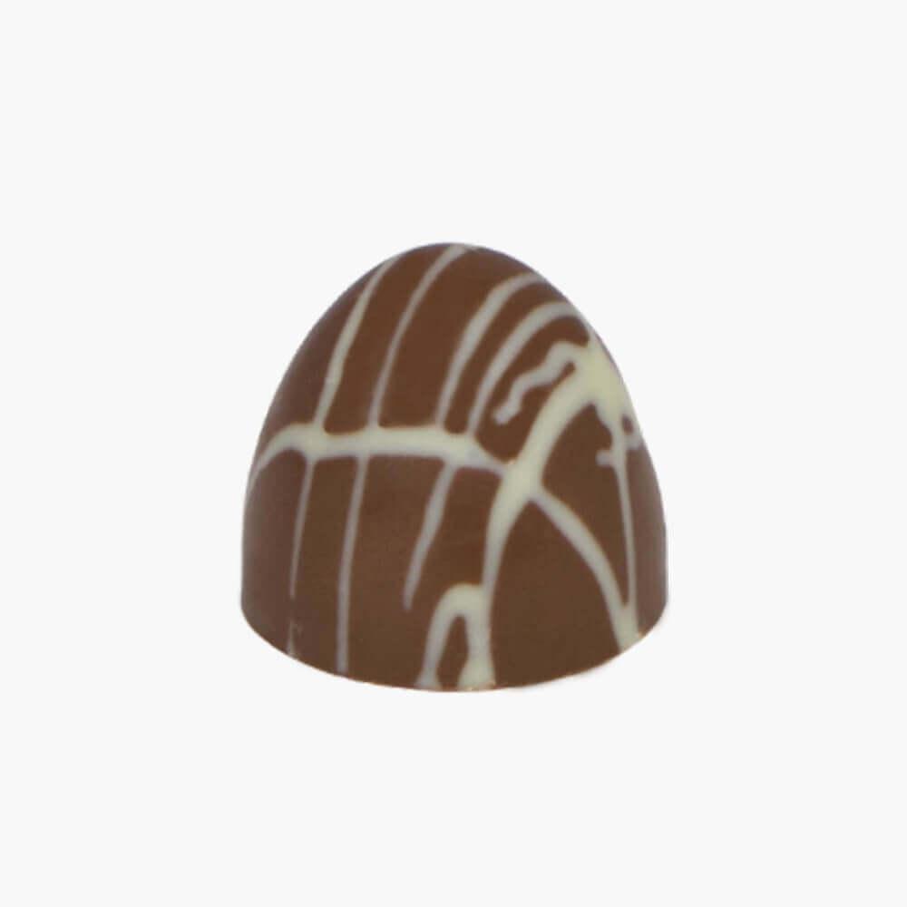 peanut butter pretzel dome chocolate