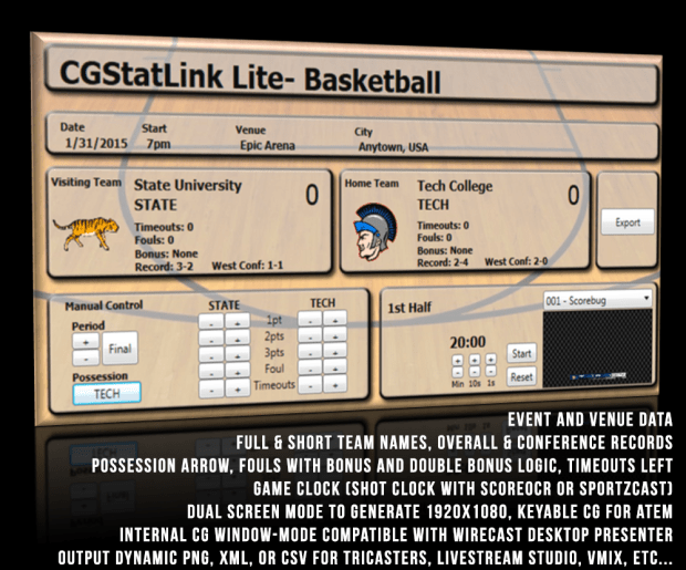 Product Header- Basketball Lite