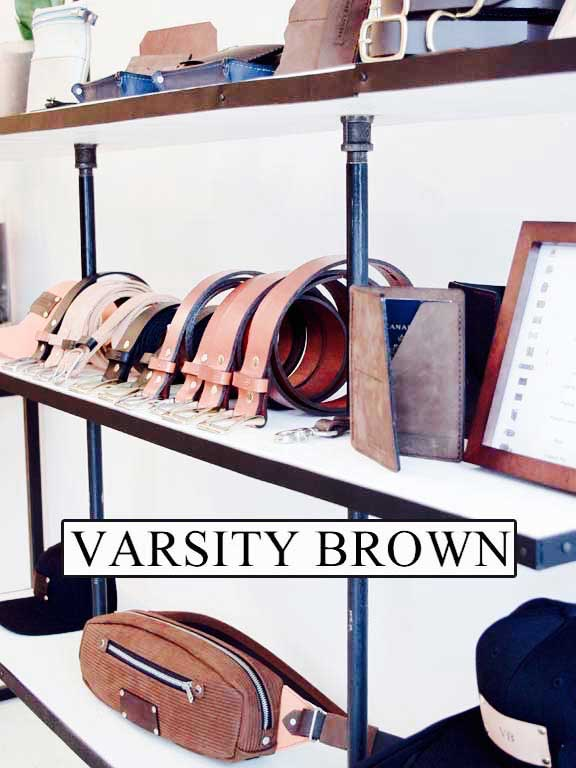 Varsity Brown Interior shot