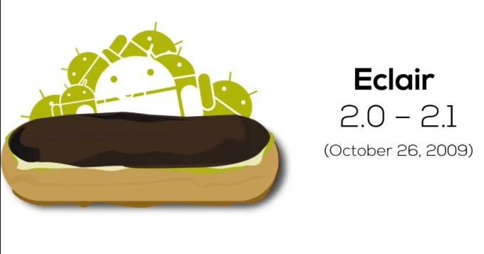 Android Eclair Logo