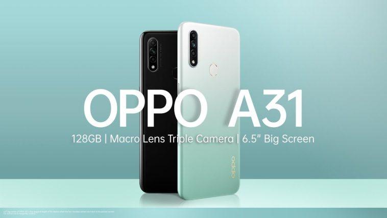 Preview Oppo A31 dengan layar 6 inchi