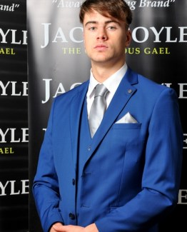 Cobalt Three Piece Jack Doyle Suit Suit Distributors Cork