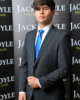Dark Grey Two Piece Jack Doyle Suit Distributors Cork