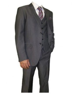 Frazer Grey Three Piece Suit Suit Distributors Cork