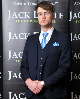Dark Navy Three Piece Jack Doyle Suit Suit Distributors Cork