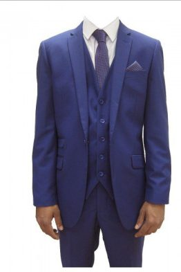 Rex Navy Three Piece Suit Suit Distributors Cork
