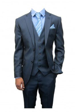 Rocky Slate Grey Three Piece Suit Suit Distributors Cork