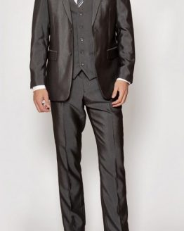 Rocky Grey Three Piece Flat Suit Suit Distributors Cork