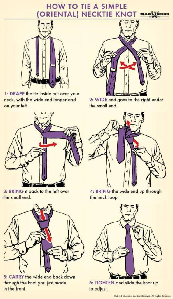 How-To tie a simple Knot