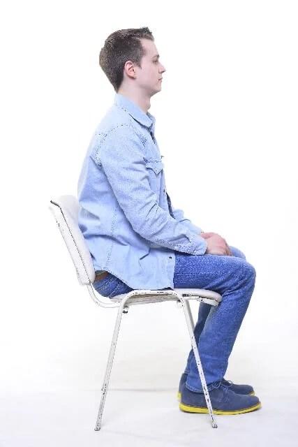姿勢のイメージ画像