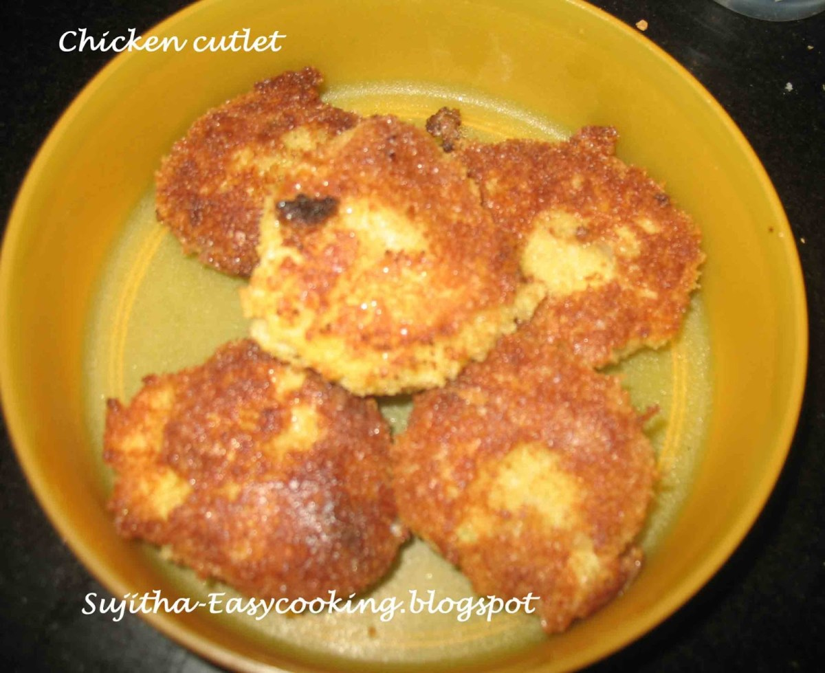 Chicken Minced Cutlet