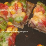 Mexican Pizza – Tortilla Pizza