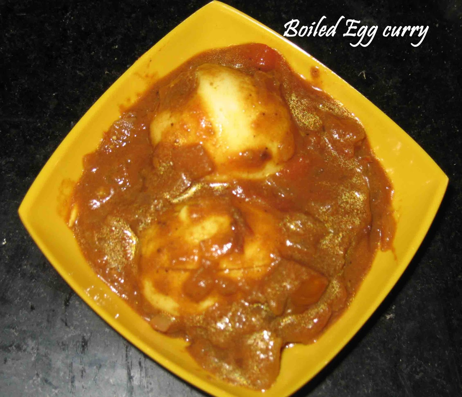Boiled Egg curry