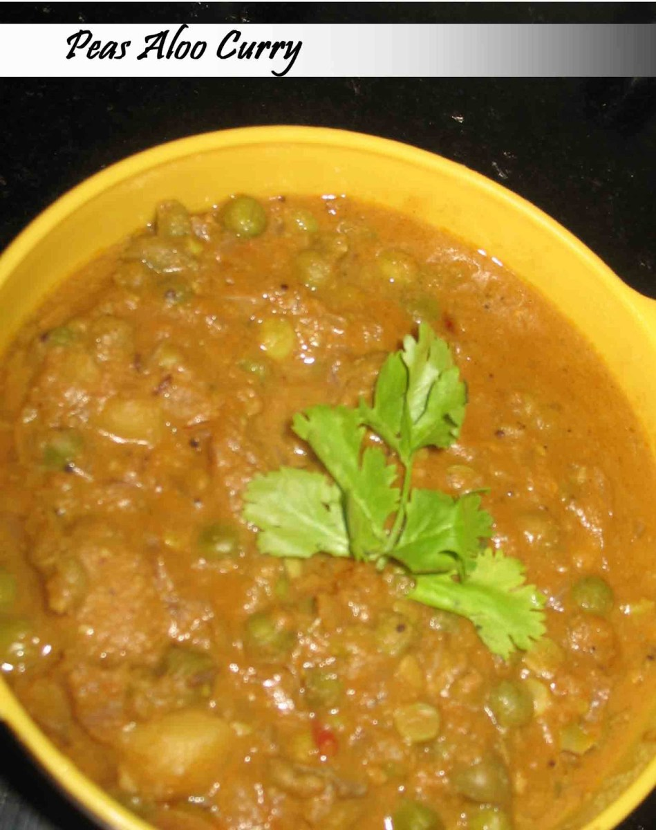 Peas Aloo curry